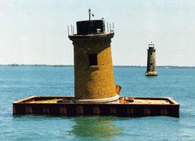 Michigan Lake Erie Lighthouses etc --- Lighthouse Postcard Ohio Cleveland