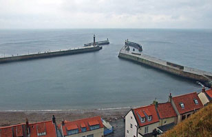 Whitby East Pier (1914)