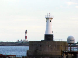 Peterhead Harbor South Breakwater